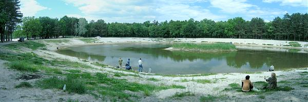 парк партизанской славы рыбалка