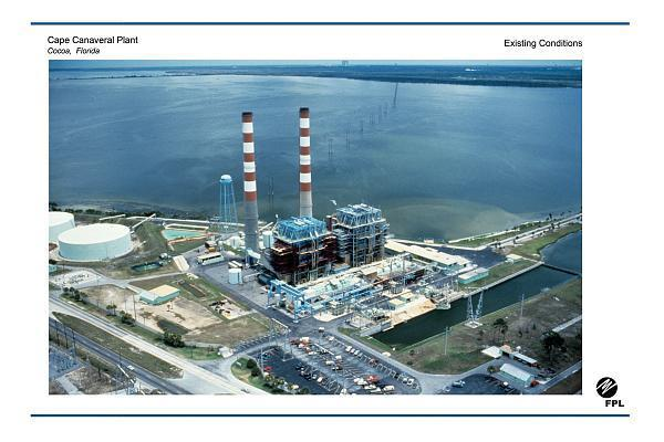 Fpl Cape Canaveral Power Plant