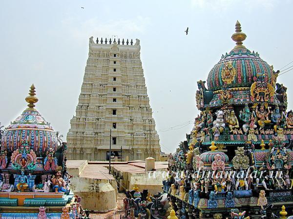 Ramanathaswamy Temple Rameswaram Pamban Dweep