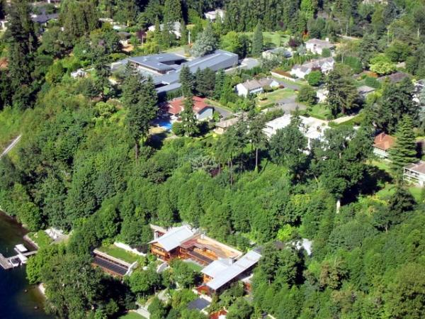 bill gates house wikipedia images