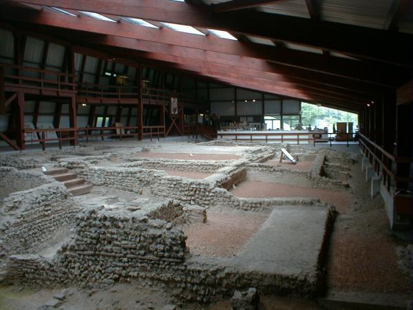 Farningham United Kingdom  city photo : archaeology museum , 1st century construction , English Heritage