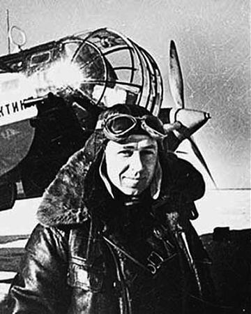 Military airfield uelkal alaska-siberia route