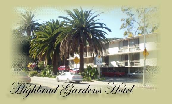 Highland Gardens Hotel Los Angeles California