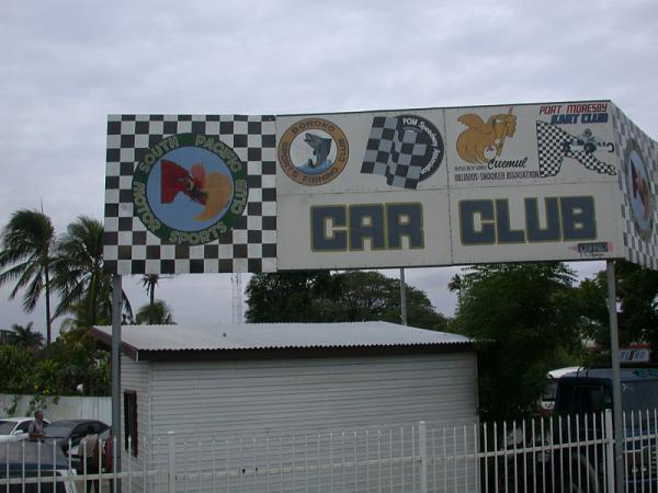 South pacific motor sports club car club port moresby for Kr motors port moresby