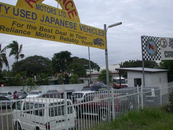 Reliance motors ltd port moresby for Kr motors port moresby