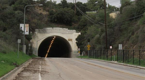Sepulveda Tunnel Los Angeles California