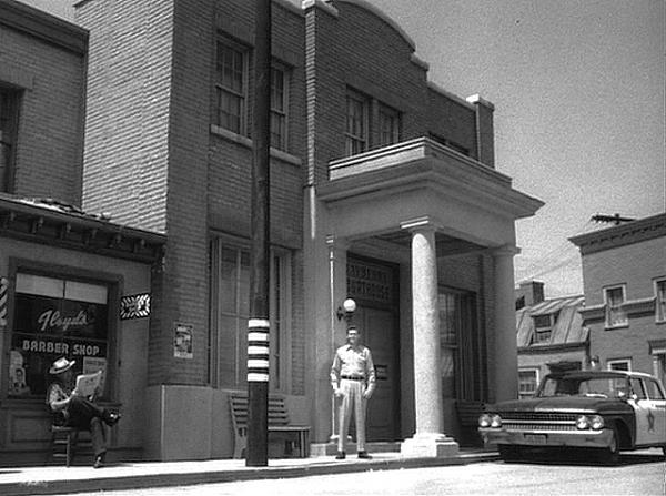 Mayberry Set And Atlanta Street Set Historical Back Lot