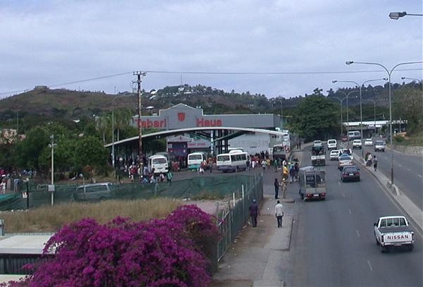 City bound bus pmv exchange boroko port moresby for Kr motors port moresby