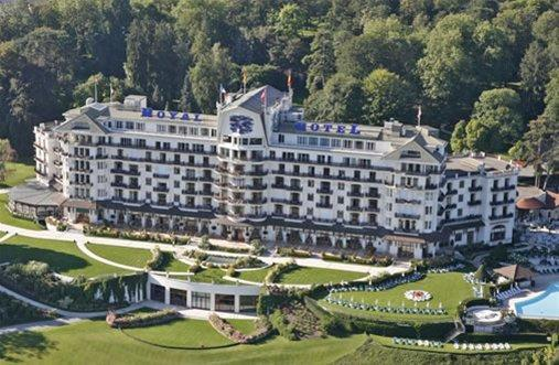 H tel royal for Hotels evian