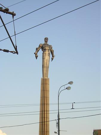 Yuri Gagarin Monument - Moscow