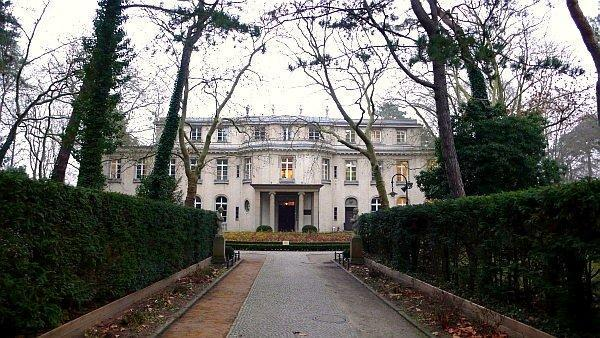 House of the wannsee conference memorial berlin