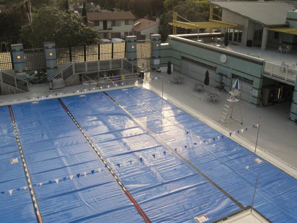 Santa Monica Plunge City Pool Santa Monica California