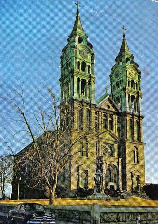 Notre Dame De Lourdes Church Fall River Massachusetts