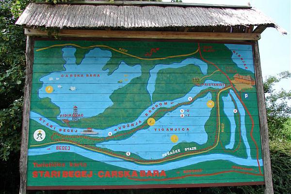 karta srbije carska bara Carska Bara (nature Reserve) karta srbije carska bara