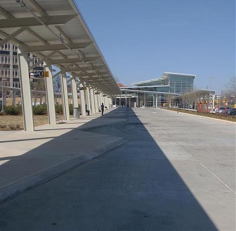 New Durham Bus Station Durham North Carolina