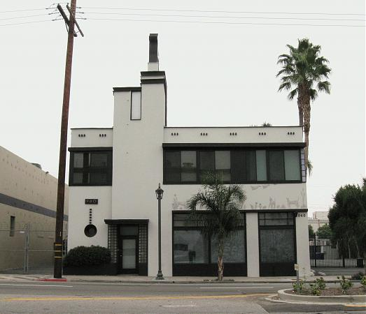 Hollywood Dog And Cat Building Los Angeles California