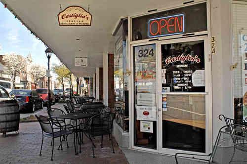 Castiglia S Italian Restaurant Pizzeria Fredericksburg Va