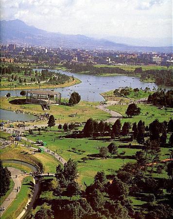 Simon Bolivar Central Park Bogota
