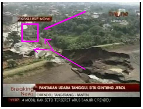 Pintu Air Situ Gintung Yg Jebol Tg 27 Maret 2009 Pk 04 00