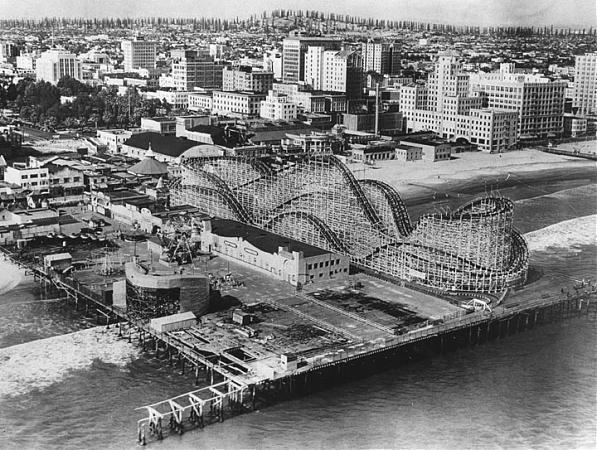 The Pike Amusement Park Long Beach California