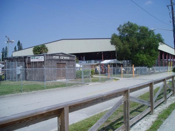 Bergeron Rodeo Grounds Former Davie Arena Davie Florida