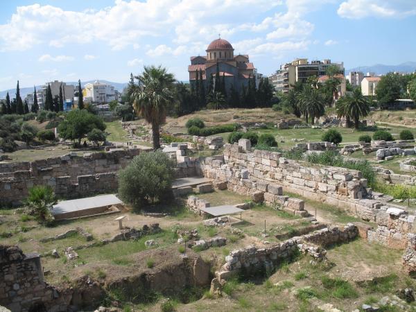 Kerameikos Ancient Cemetery - Athens  monument ...