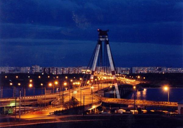 октябрьский мост фото череповец