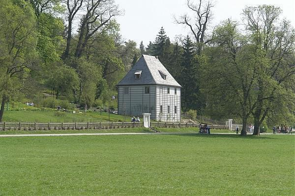 goethes gartenhaus im park an der ilm weimar. Black Bedroom Furniture Sets. Home Design Ideas