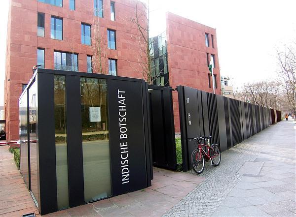 indische botschaft berlin. Black Bedroom Furniture Sets. Home Design Ideas