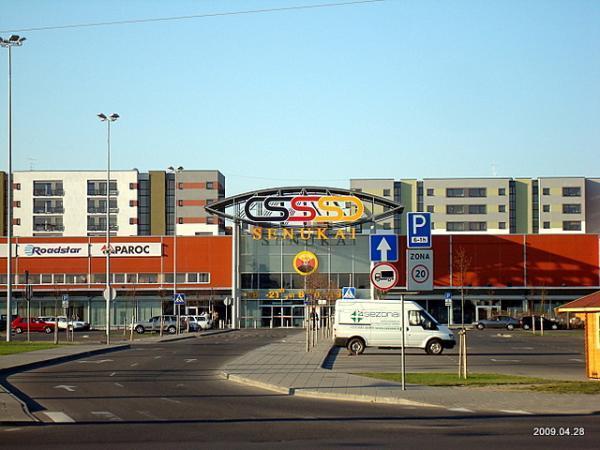 Banginis shopping center - Vilnius