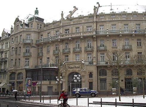 Restaurant Kranzplatz Wiesbaden Palast Hotel