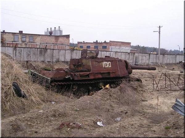 Abandoned Military Equipment WW2