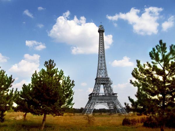 Slobozia Turnul Eiffel Turnul Eiffel Replica