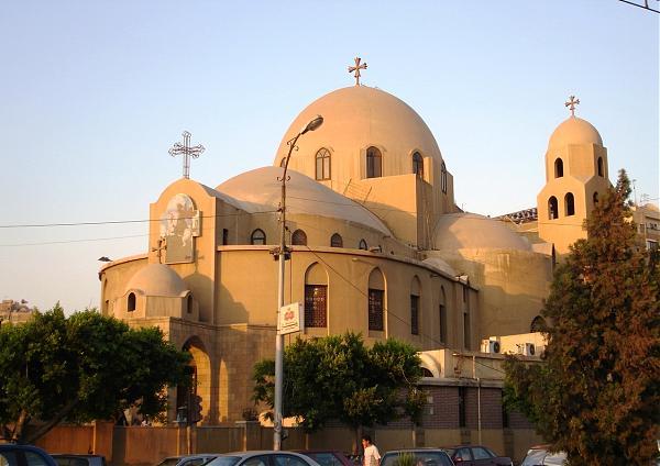 St George Heliopolis Church كنيسه مارمرجس هليوبليس