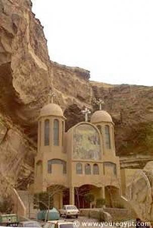St.Samaan Elkharraz Church in Elmokattam كنيسه القديس سمعان الخراز بالمقطم