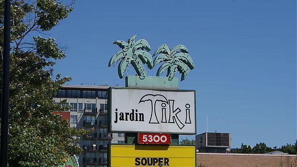 Jardin tiki restaurant communaut m tropolitaine de for Restaurant jardin montreal
