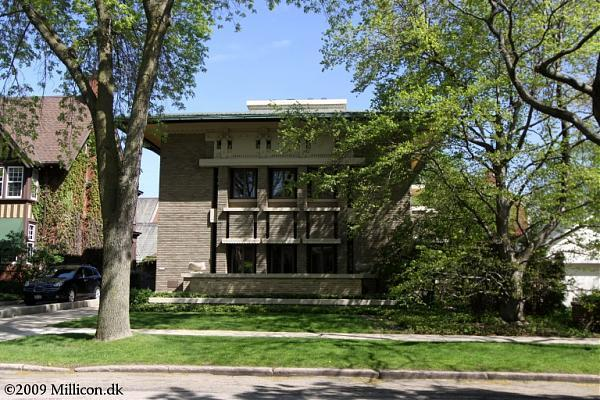 The Frederick C Bogk House 1916 By Frank Lloyd Wright