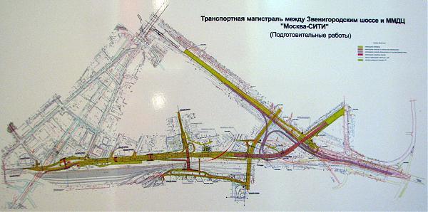 """развязка """"Москва-Сити"""""""