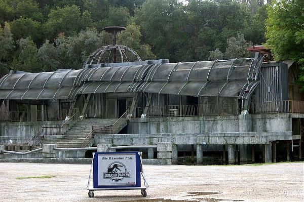 Building Used For Jurassic Park Films