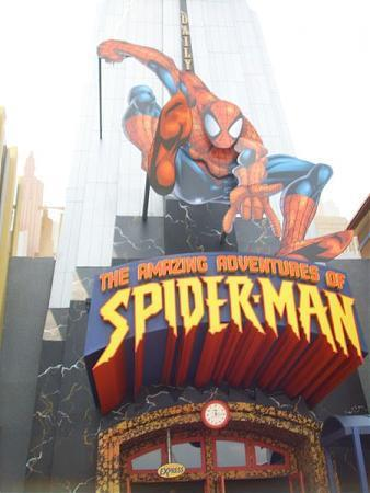 amazing adventures of spiderman orlando florida