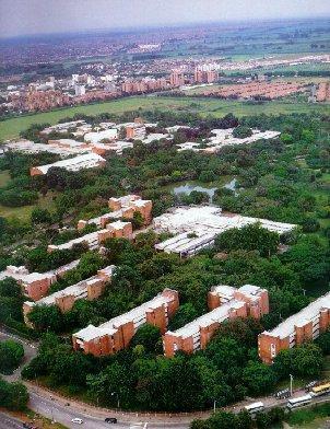 Universidad del valle ciudad universitaria melendez cali for Barrio ciudad jardin cali