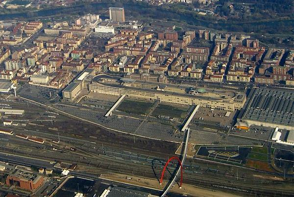 Fiat Lingotto Factory Rooftop Test Track Turin