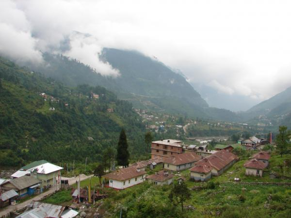 Lachung India  city photo : village , hill station