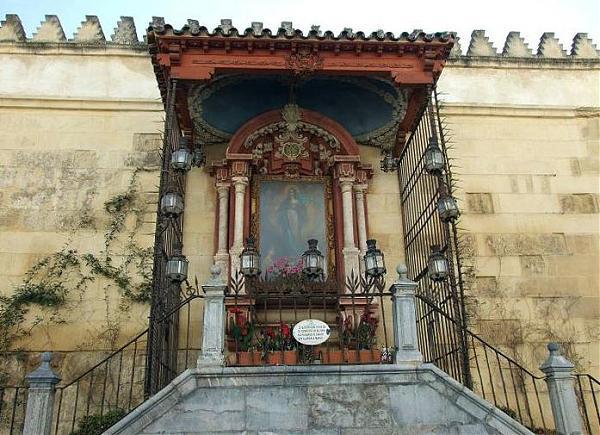 Altar de la virgen de los faroles c rdoba - Persianas lavirgen cordoba ...