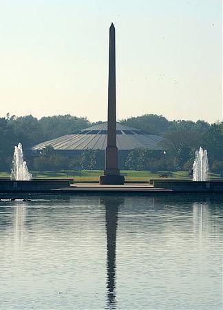 Pioneer Memorial Obelisk Houston Texas