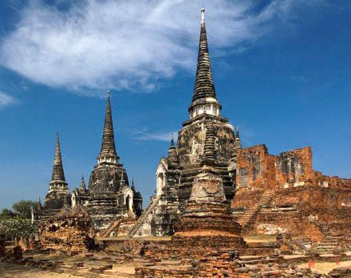 Wat Phra Sri Sanphet - Phra Nakhon Si Ayutthaya Municipal Area