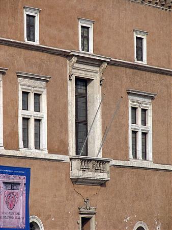 Балкон муссолини - рим.