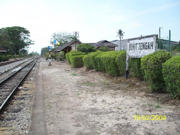 bukit tengah railway station - bukit mertajam