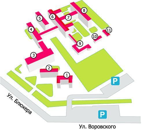 Поликлиника м. домодедово