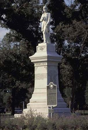 Remove it! Dick Dowling Statue, Hermann Park, Houston